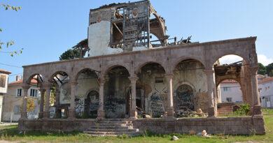 Ayvalık'ta Aya Triada Kilisesi turizme kazandırılıyor